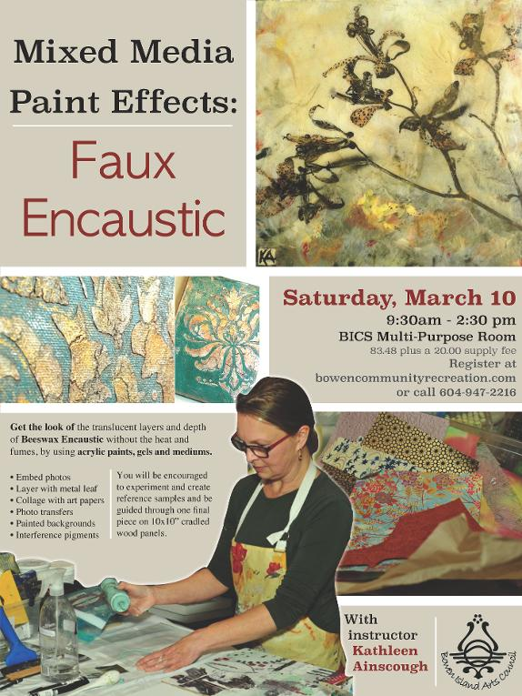 Mixed Media Paint Effects - click to register